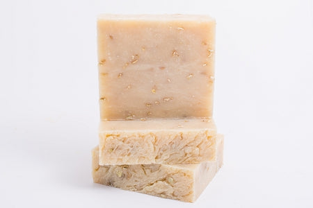 Unscented Oatmeal with Goat Milk Bath Soap