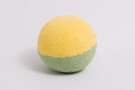 Green Clover Field Bath Bomb