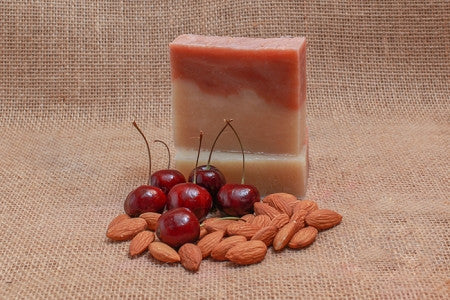 Cherry Almond  Bath Soap