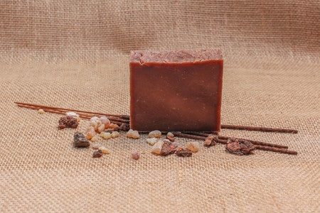 Frank & Myrrh Bath Soap