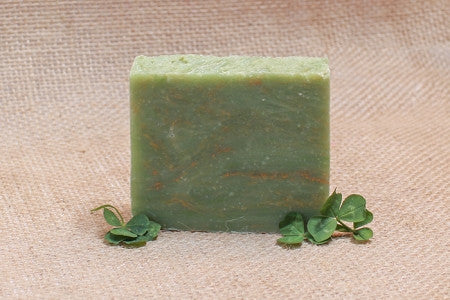 Green Clover Field Bath Soap