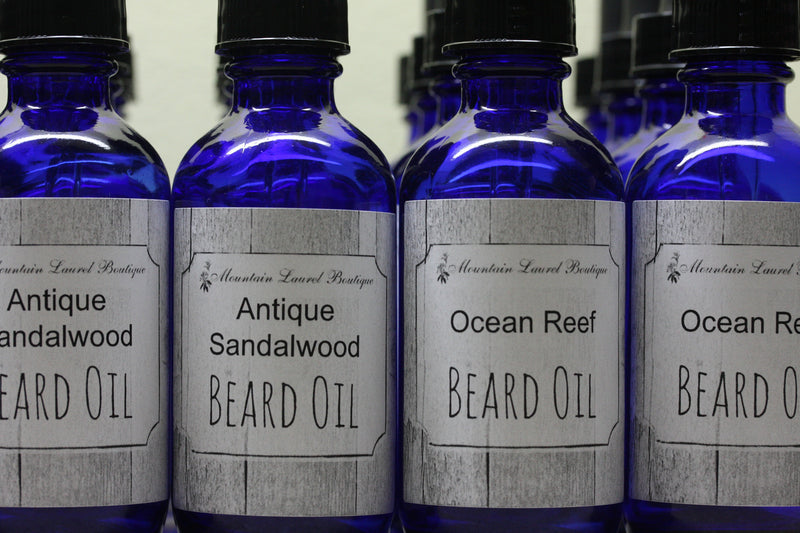 Lilac and Lilies Beard Oil
