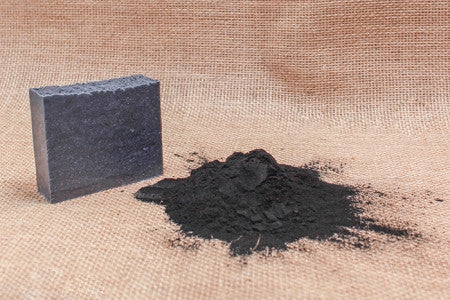 Unscented Activated Charcoal  Bath Soap