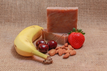 Banana Berry Almond Bath Soap