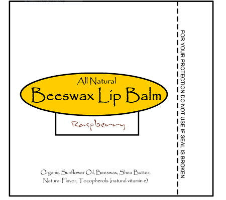 Raspberry Beeswax Lip Balm