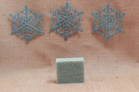Snowflakes Bath Soap