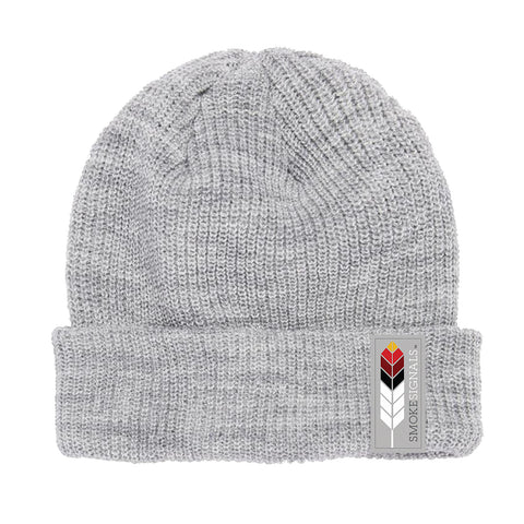 Smoke Signals, Native Culture Shop, Gray Beanie