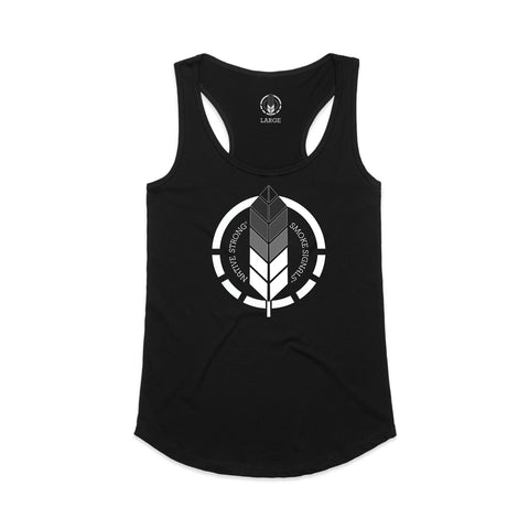 WOMEN'S NATIVE STRONG / RACERBACK TANK TOP