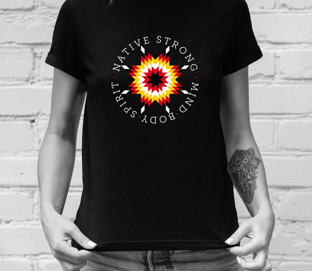 Native Strong, Women's Fashion T-Shirt