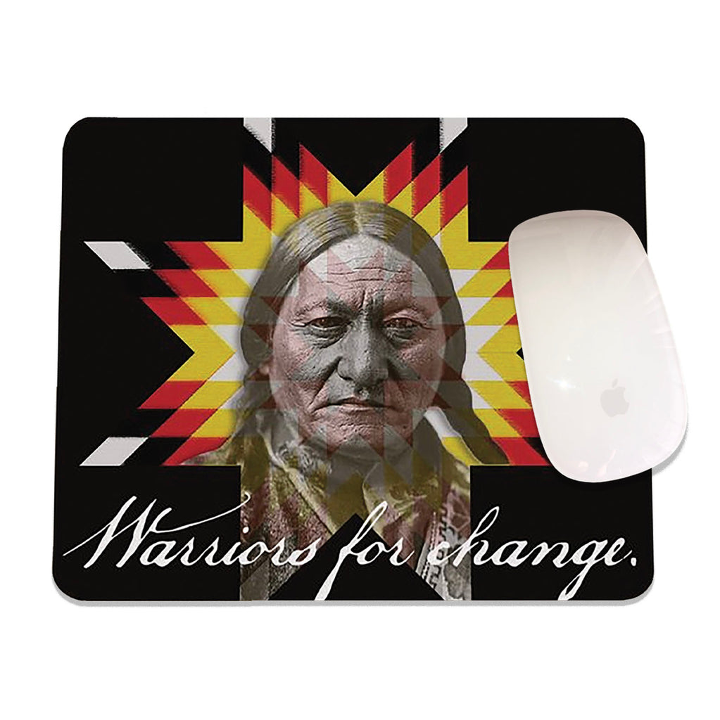 Smoke Signals, Native Culture Shop, Warrior Mouse Pad