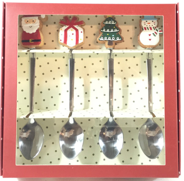 Christmas Gift Set #TeaSpoon 4pcs