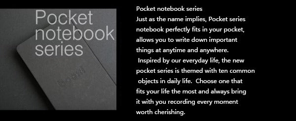 Camera Pocket Notebook Series
