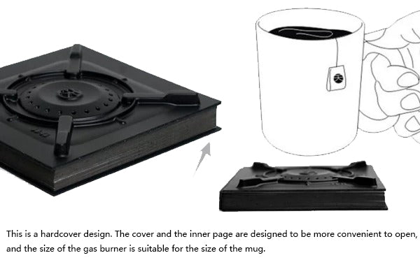 Gas Stove black series Notebook