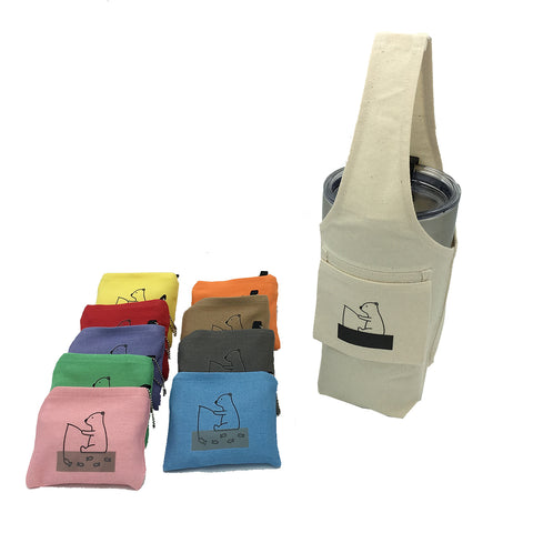 YCCT Eco-friendly Reusable Beverage Color Changing Bag  #Polar Bear