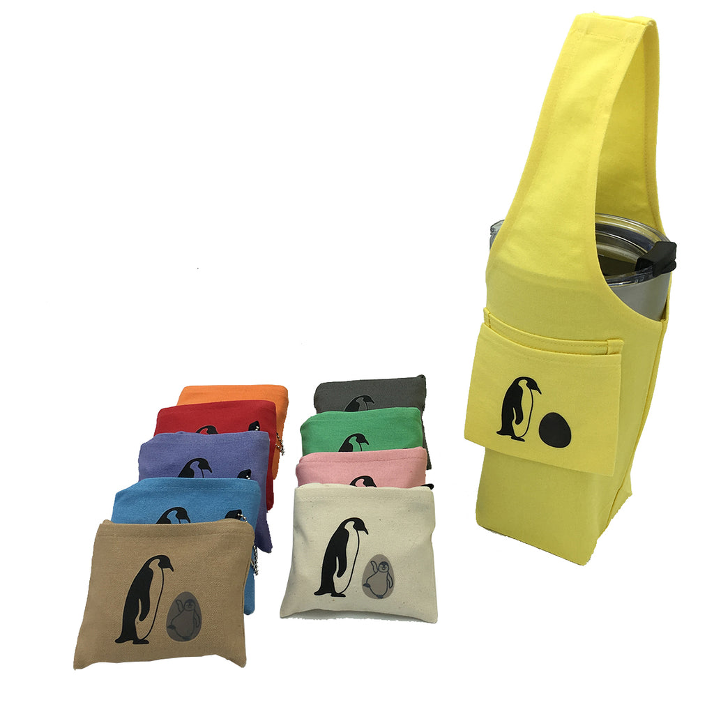 Eco-friendly Reusable Beverage Color Changing Bag  #Penguin