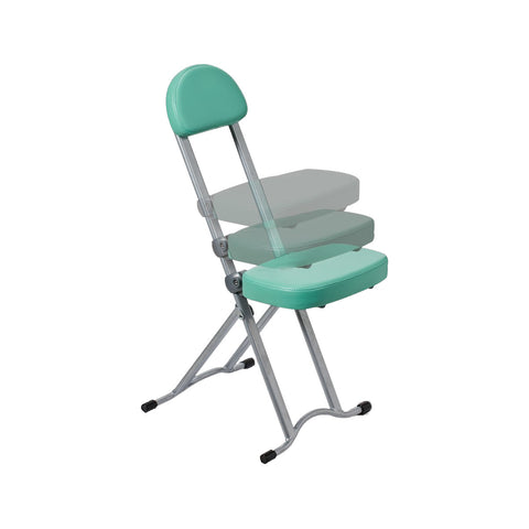 Adjustable Sectionless Folding Chair - Apple Green