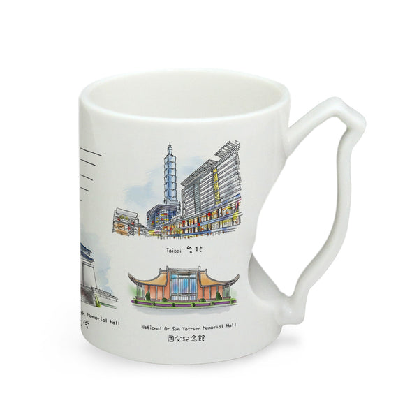 IMUG Taiwan Mug Attractions Series- Taipei City