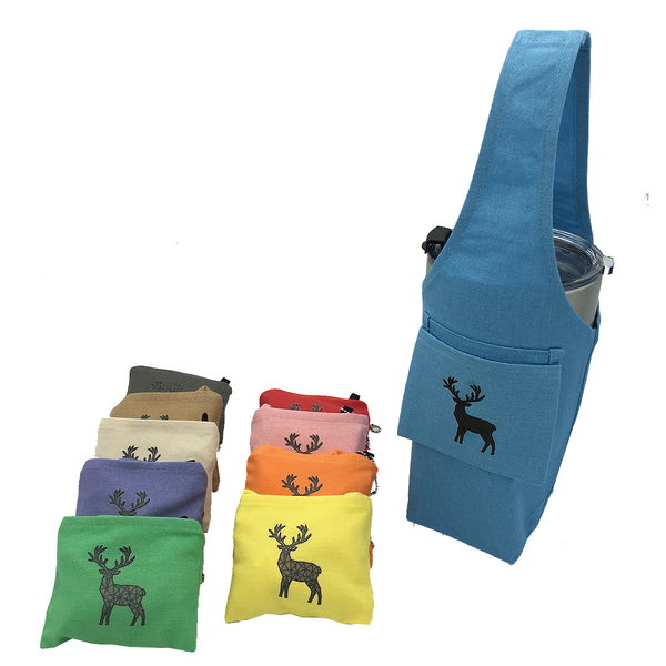 Eco-friendly Reusable Beverage Color Changing Bag  #Reindeer