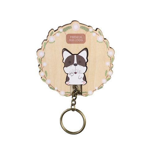 DAZZY LIFE Key House #French Bulldog