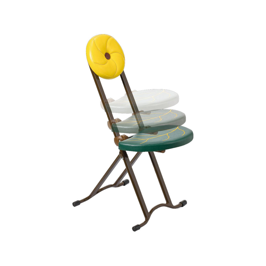 Adjustable Sectionless Folding Chair - Sun Flower