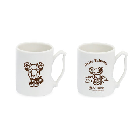 IMUG Zodiac Tour Taiwan Mug Set- Sheep