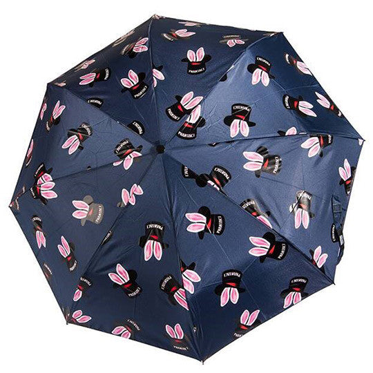 PHANTACi Auto-Open Umbrella - Hat Trick Pattern/ Blue