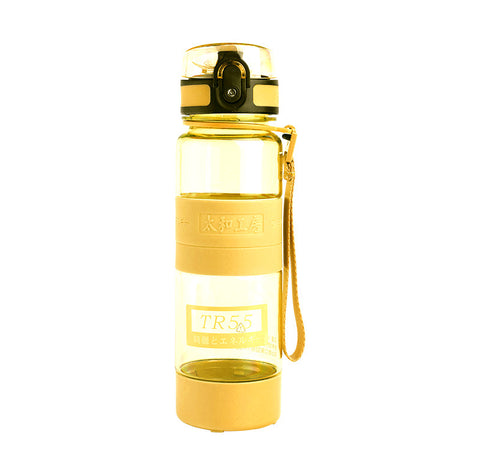 TR55 Ion Energy multi-functional Water Bottle (Yellow with 2 sizes)