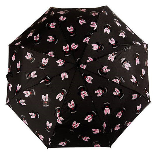 PHANTACi Auto-Open Umbrella - Hat Trick Pattern/ Black
