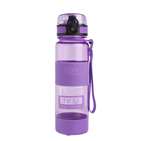 TR55 Ion Energy multi-functional Water Bottle (Purple with 2 sizes)