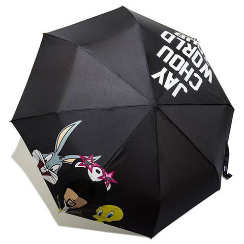 PHANTACi X Looney Tunes Umbrella - Black