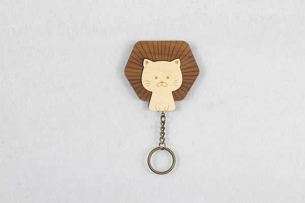 DAZZY LIFE Key House #Lion Cat