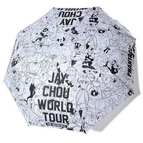 PHANTACi X Looney Tunes Umbrella - White