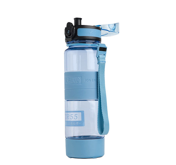 TR55 Ion Energy multi-functional Water Bottle (Blue with 2 sizes)
