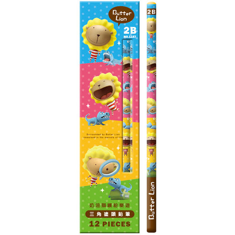 SIMBALION Triangle Pencil (12 Packs)