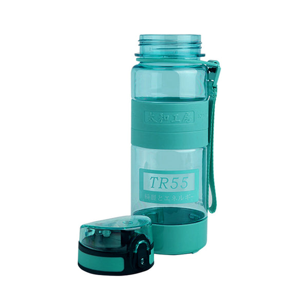 TR55 Ion Energy multi-functional Water Bottle (Green with 2 sizes)