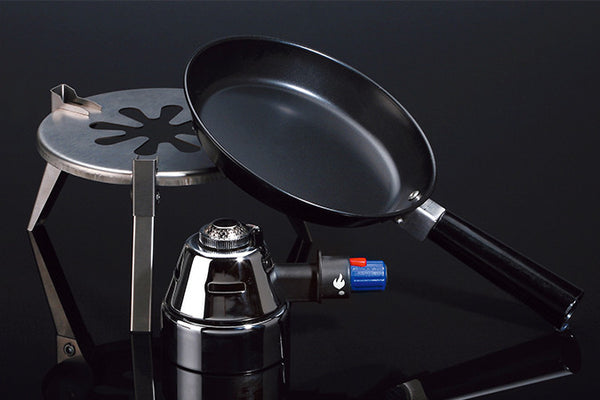 Stainless Steel Camping Gas Burner w/ Stand MQ101