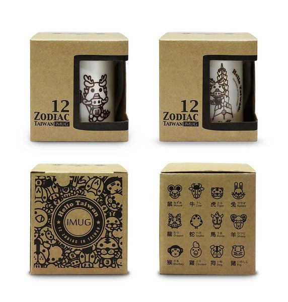 IMUG Zodiac Tour Taiwan Mug Set- Dragon