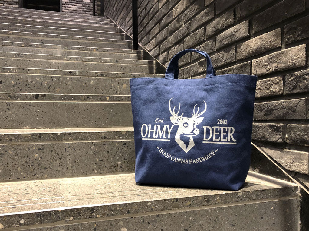 Hoop Eco-friendly Reusable Canvas Bag #Ohmydeer