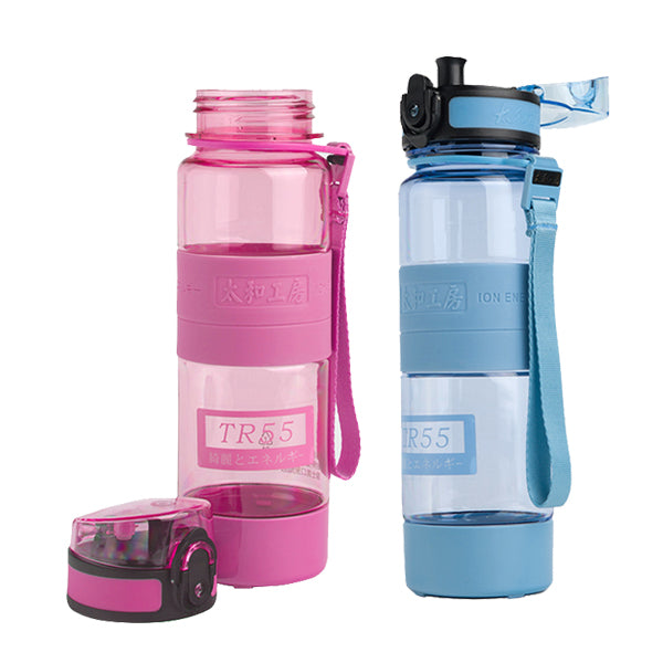 TR55 Ion Energy Sports Water Bottle #Blue+Pink 500ml/700ml