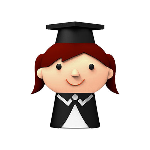 XEBE Graduation Student 8GB USB - Girl