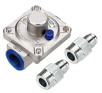 Natural Gas Regulator w/ 2pcs Connectors INR-01