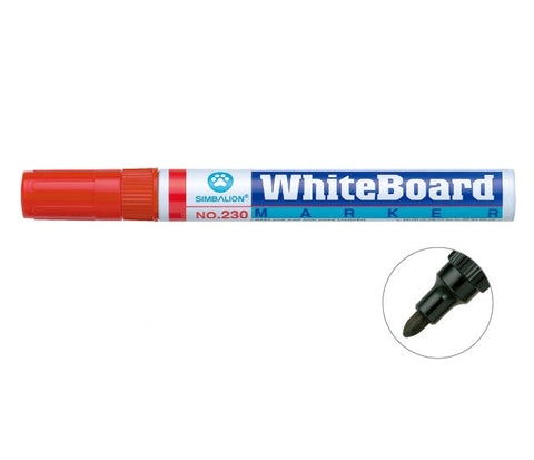 SIMBALION Red Whiteboard Markers (1 piece)