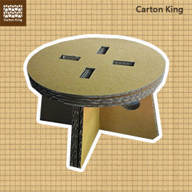 Carton King DIY Stool