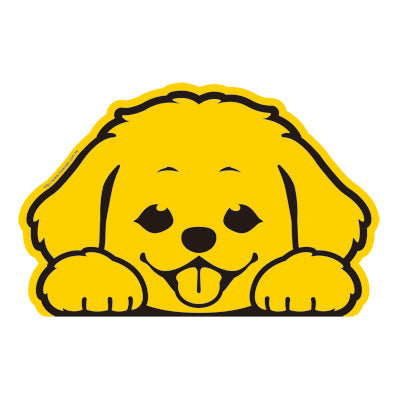 ART WOOD LIVING Super Cute Dog Sticker