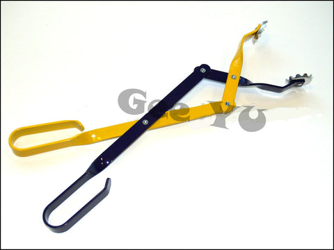 "BBQ Grills Charcoal Tongs 16.5"" Yellow Purple #708"
