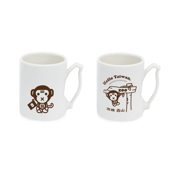 IMUG Zodiac Tour Taiwan Mug Set- Monkey