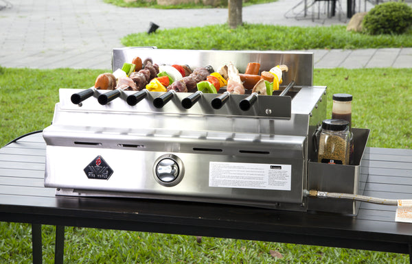 PORTABLE STARLIGHT ADJUSTABLE INFRARED BBQ GRILL w/ ALL ACCESSORIES  SL102