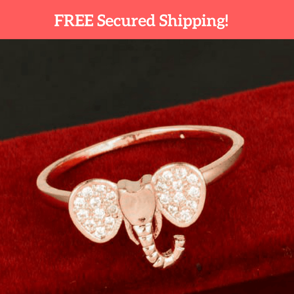 Beautiful Elephant Ring [FREE Secured Shipping!]