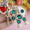 Image of Beautiful Crystal Elephant Key Chain [FREE Secured Shipping!]