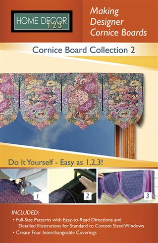 Cornice Board Pattern Collection 2